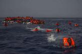 Afrički migranti Libija spasavanje AP