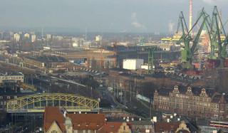 Misja oceniająca ICOMOS - ostatni etap procedury wpisu Stoczni Gdańskiej na listę UNESCO