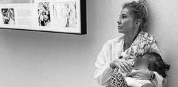 Edyta Pazura karmi piersią 1,5 roczną córkę. Internautki zachwycone