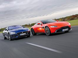 Aston Martin Vantage i Jaguar F-Type – angielskie rakiety