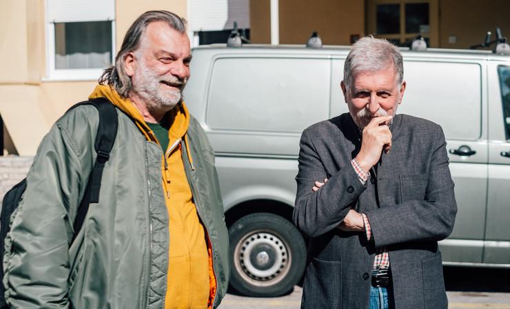 Milan Nikodijević i Peca Popović