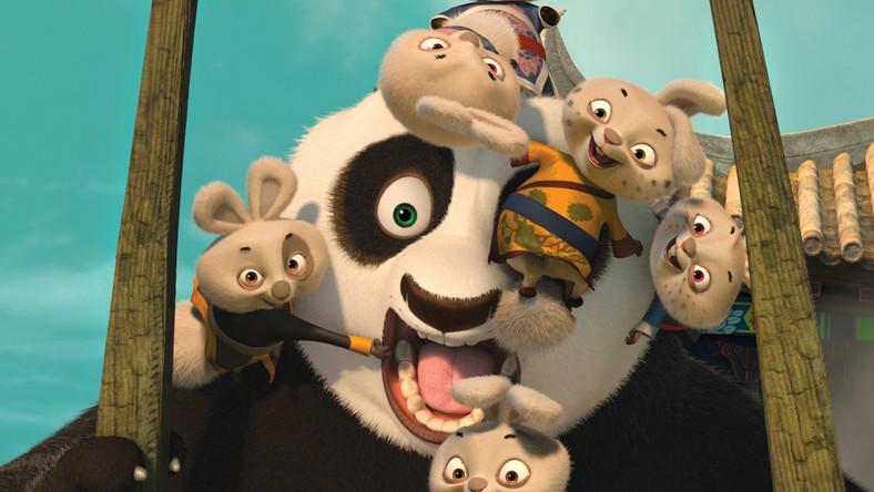 Kung Fu Panda zachowuje równowagę i zimną krew