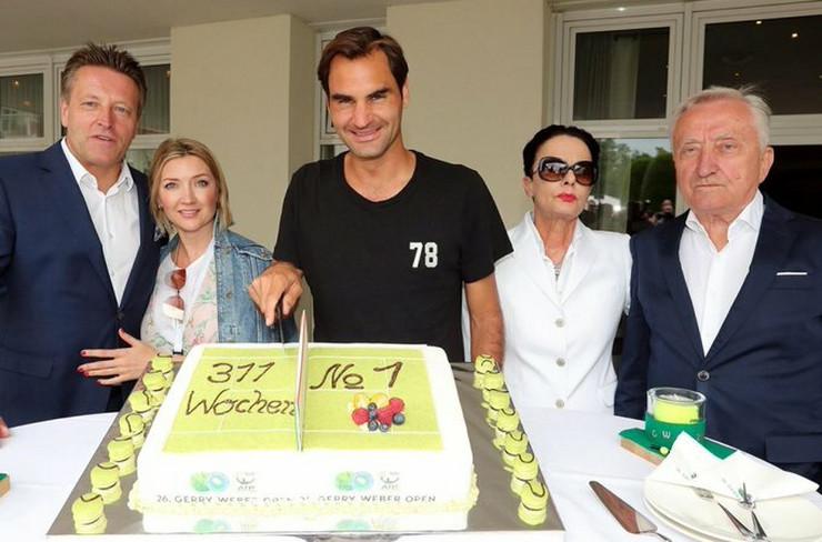 Federer - torta