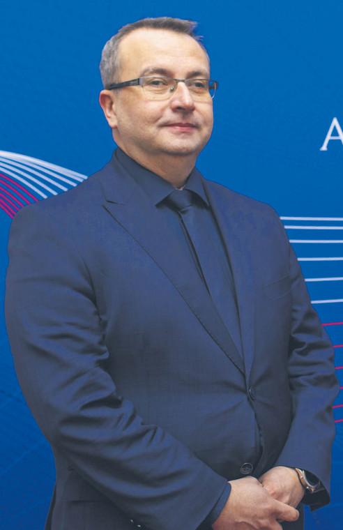 Arkadiusz Jedynak, dyrektor departamentu poboru podatków w Ministerstwie Finansów  fot. Wisniewski/Materiały prasowe