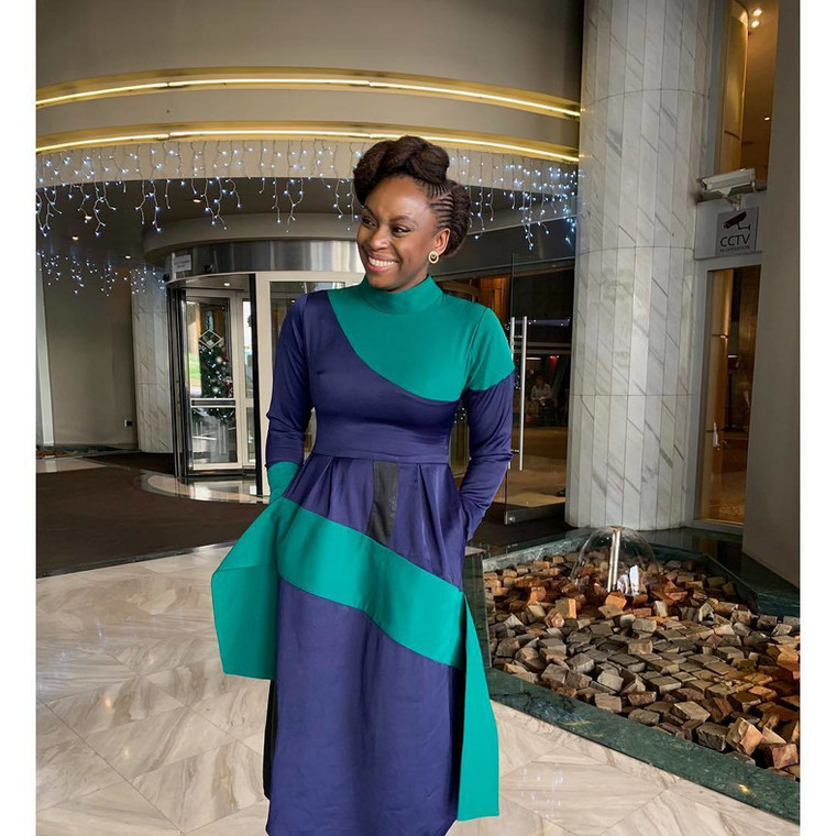 Chimamanda is no newcomer to awards as she has received quite a number of them from prestigious organisations and higher education institutions across the world. [Imstagram/ChimamandaAdicihie]