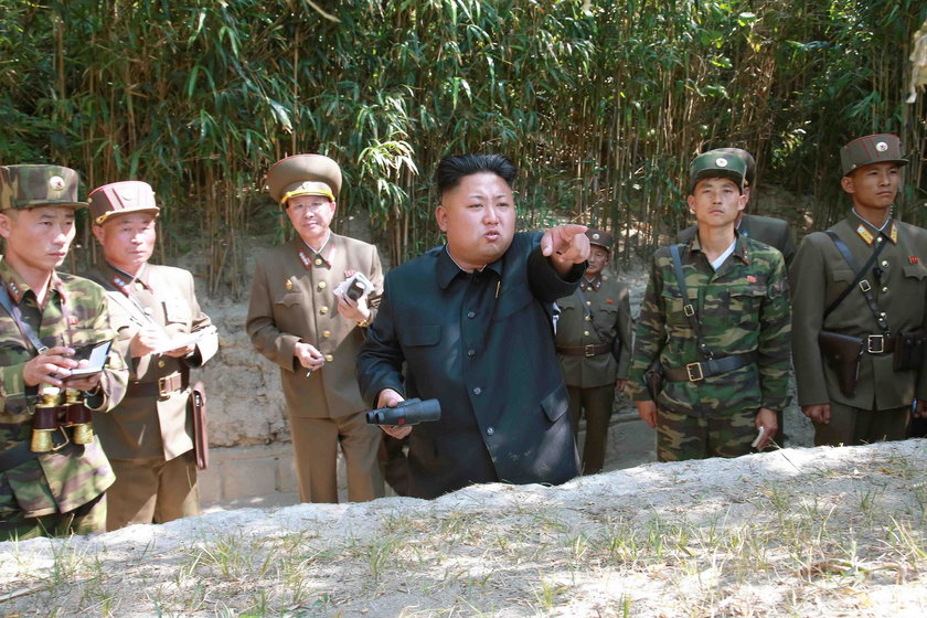 Kim Jong Un Watches KPA Army Exercises