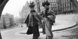 19-letni student krążył po XIX-wiecznym Oslo z aparatem szpiegowskim ukrytym w butonierce