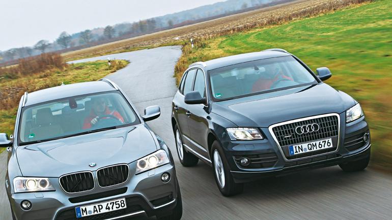 Audi Q5 kontra BMW X3: Monachium kontratakuje