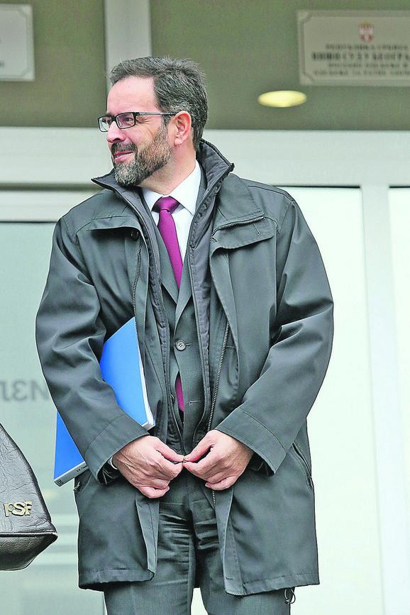 Branko Lazarević, bivši šef kabineta Ivice Dačića
