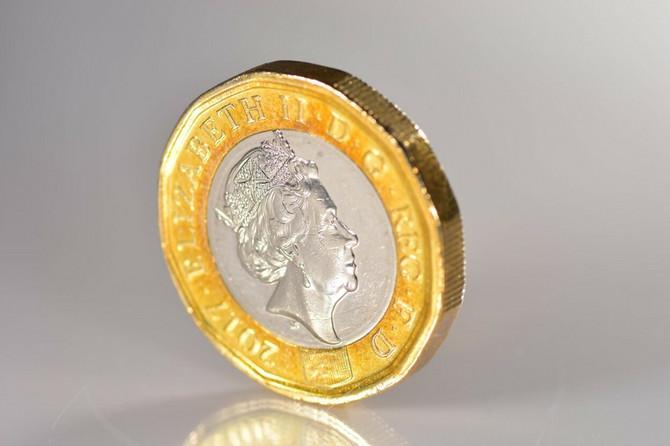 Lik kraljice i na metalnom novcu