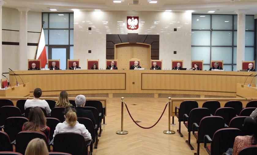 Trybunał o nowej ustawie PiS: część przepisów niekonstytucyjna