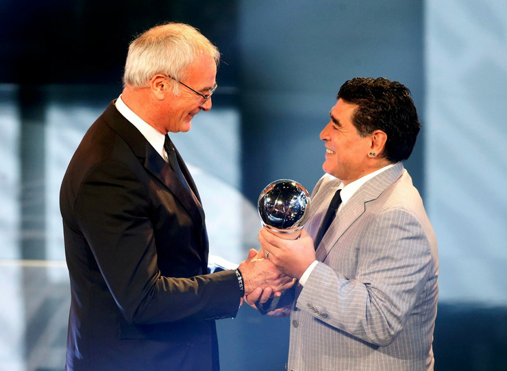 Klaudio Ranijeri, Dijego Maradona