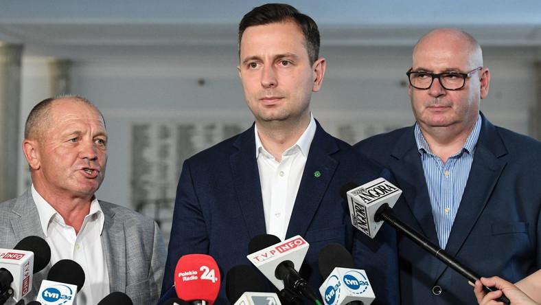 Marek Sawicki, Władysław Kosiniak-Kamysz i Piotr Zgorzelski