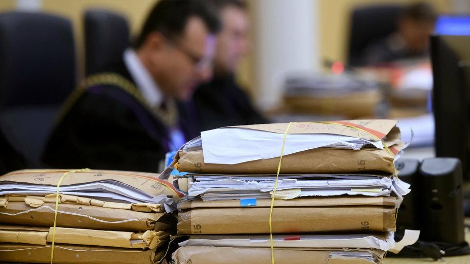 Akta sprawy Ewy Tylman w sądzie