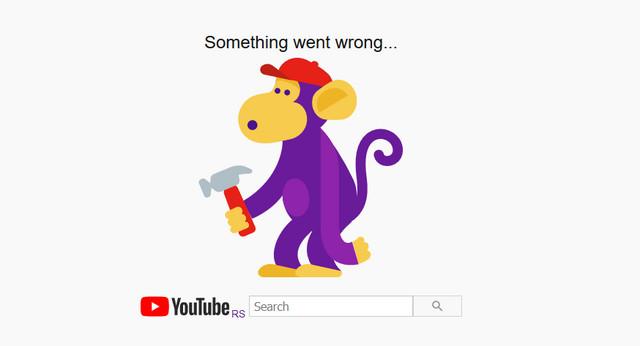 youtube ne radi