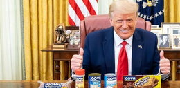 Trump i jego córka reklamują fasolę