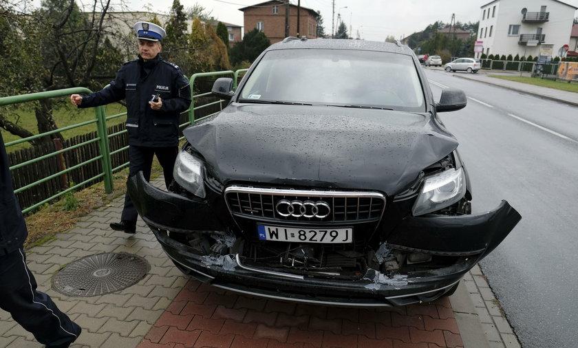Stłuczka Beaty Szydło w Imielinie kosztowała prawie 140 tys. zł