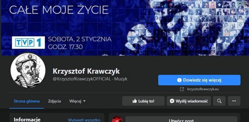 To był ostatni post na profilu Krzysztofa Krawczyka. Pojawił się dwie godziny przed tragiczną informacją
