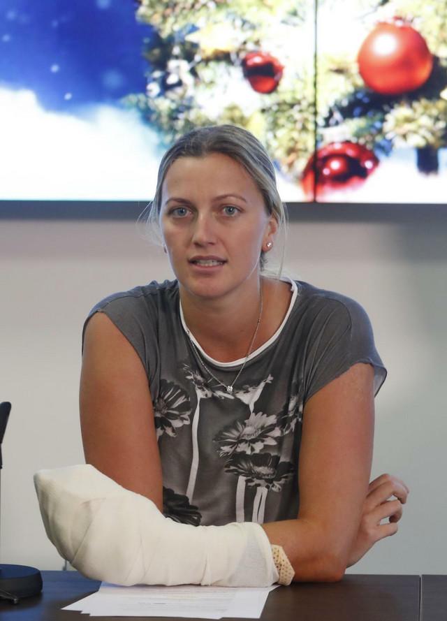 Petra Kvitova nakon napada 2016. godine