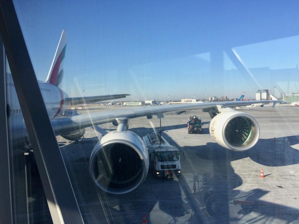 Rozpiętość skrzydeł A380 to blisko 80 metrów.