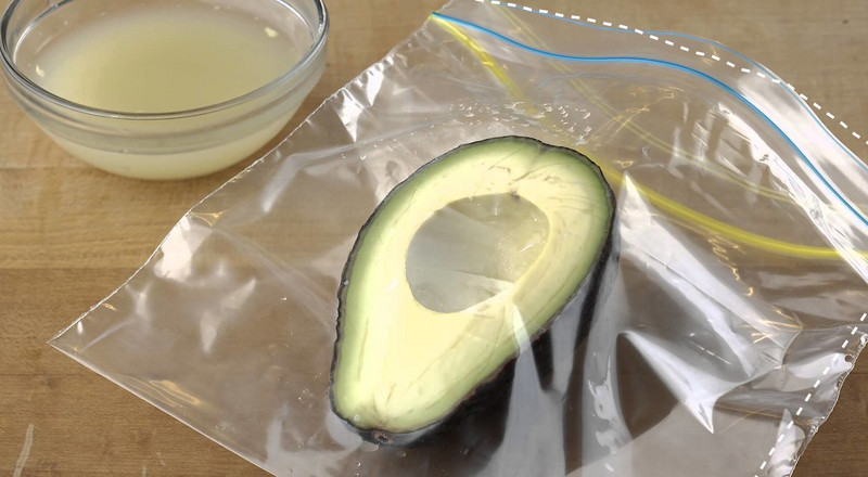 7 ways to store your already cut avocado