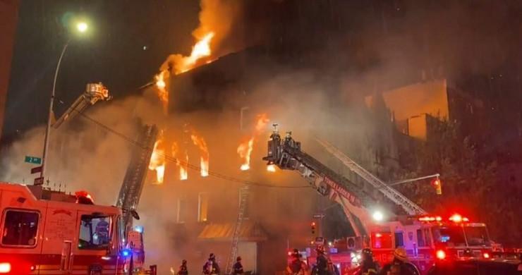 Crkva Njujork požar