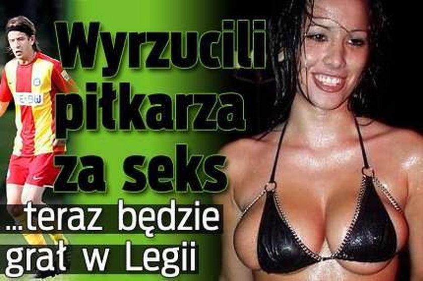Chorwacki skandalista w Legii