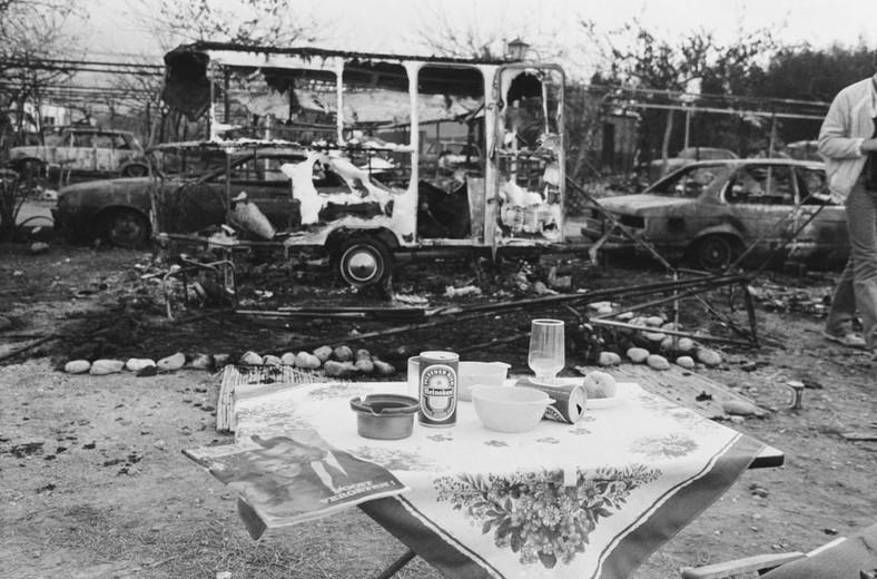 Trágica explosión de un petrolero el 11 de julio de 1978 en el campamento Los Albax en Alcanar (España).