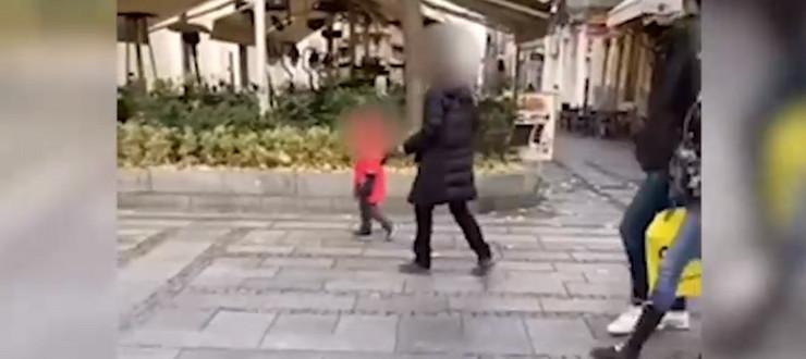 Dete viče na majku