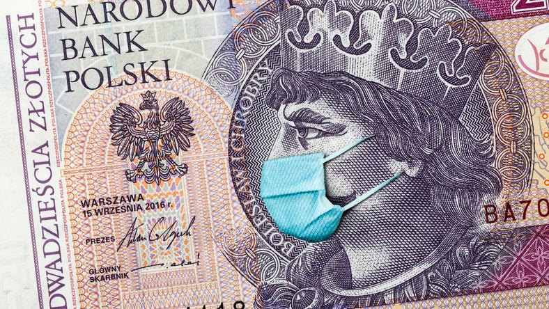 kryzys koronawirus pieniądze
