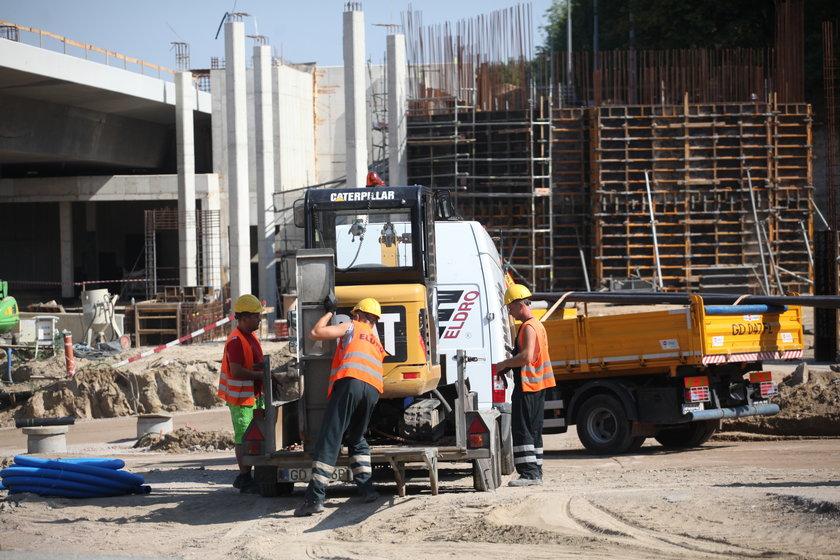 budowa linii tramwajowej na Morenę