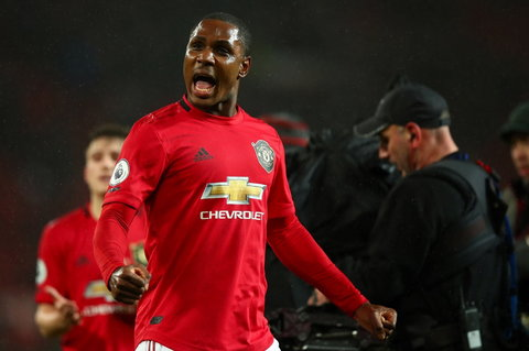 Odion Ighalo will be at Manchester United until January 2021 (Twitter/Odion Ighalo)