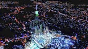 Muzułmanie wysyłają tysiące zdjęć i filmów z pielgrzymki do Mekki