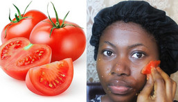 2 ways to lighten the skin naturally with tomatoes  [Wikihow]