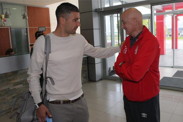 Aleksandar Kolarov i Slavoljub Muslin