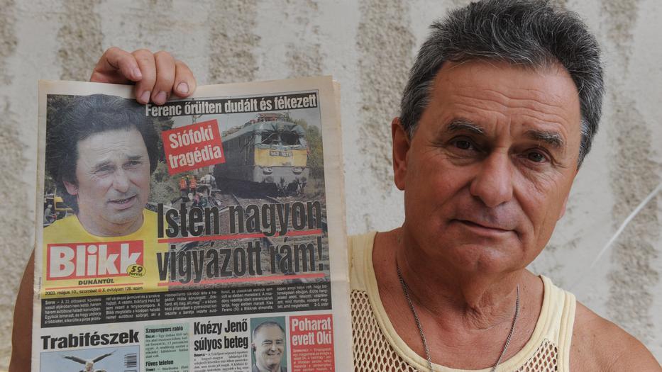 2003 május 8-án történt a tragédia, Ferenc soha nem felejti el azt a napot