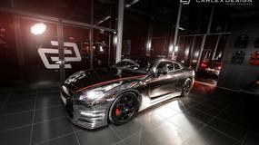 Nissan GT-R cały w chromie - nowe dzieło Carlex Design