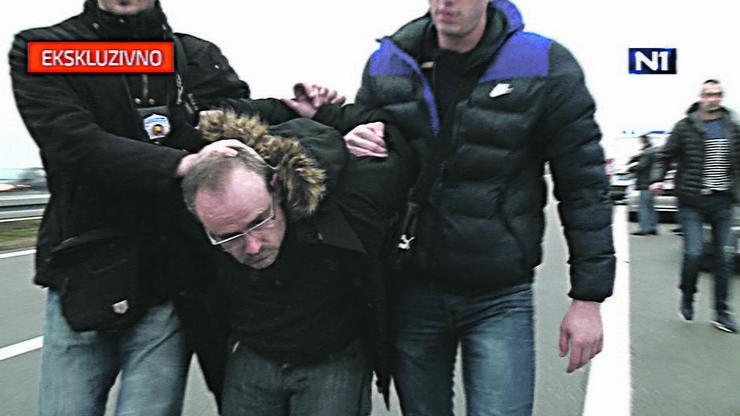 Jedan od uhapšenih otmičara