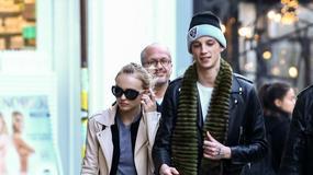 Lily-Rose Depp z chłopakiem