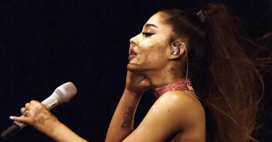 Ariana Grande wurde bei Coachella mit einer Zitrone beworfen