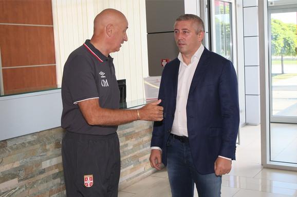 Slavoljub Muslin i Slaviša Kokeza