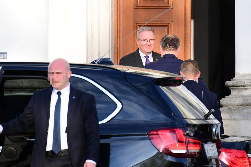 Zakończyło się spotkanie na szczycie. Prezydent stawia warunki