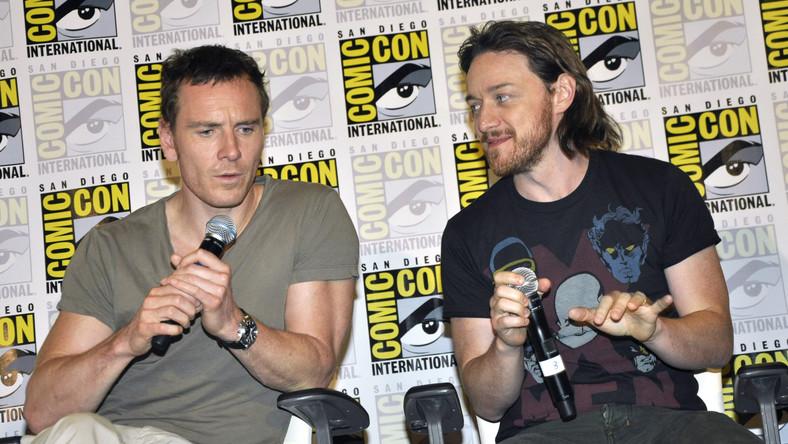 "Michael Fassbender i James McAvoy promowali ""X-Men: Days of Future Past"" na Comic Con International 2013"