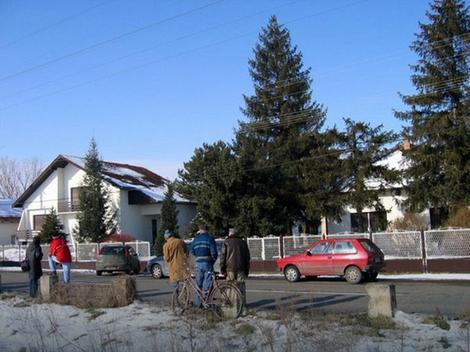 Porodična kuća u kojoj se desilo ubistvo