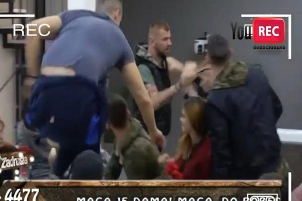 HAOS U ZADRUZI: Podivljali Janjuš hteo da prebije Baneta, četvorica ga držala, a onda uletelo obezbeđenje! VIDEO