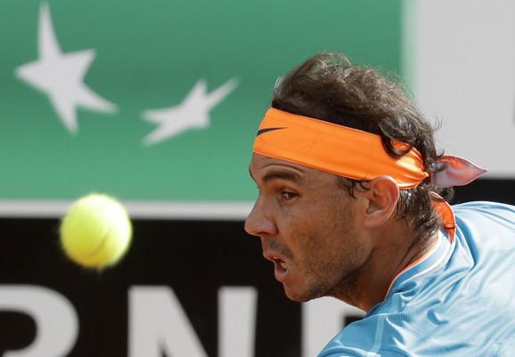 Rafael Nadal u finalu Rima