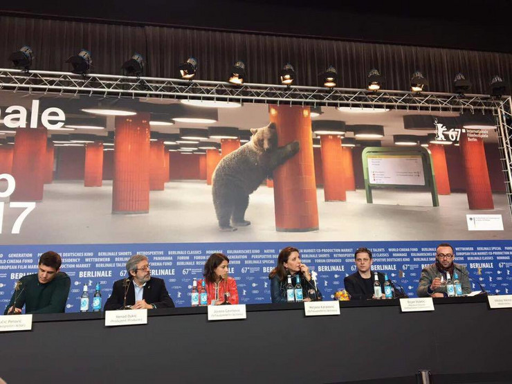 Rekvijem za gospođu J. konferencija za medije u Berlinu facebook Rekvijem za gospođu J.