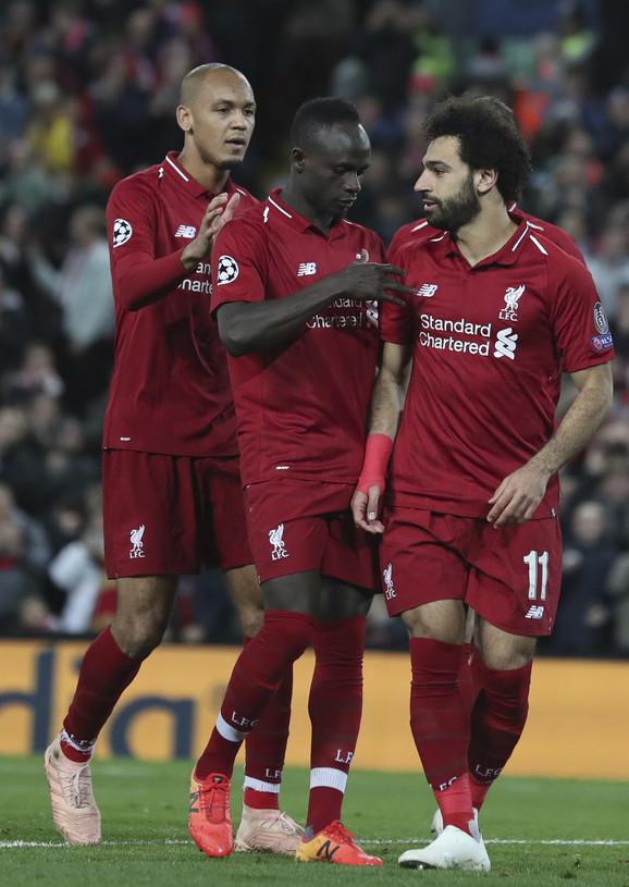 Sadio Mane, Fabinjo i Mohamed Salah