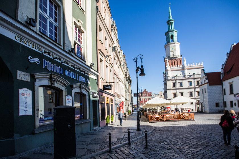Prezydent Jaśkowiak chce wprowadzić nocną prohibicję na Starym Rynku