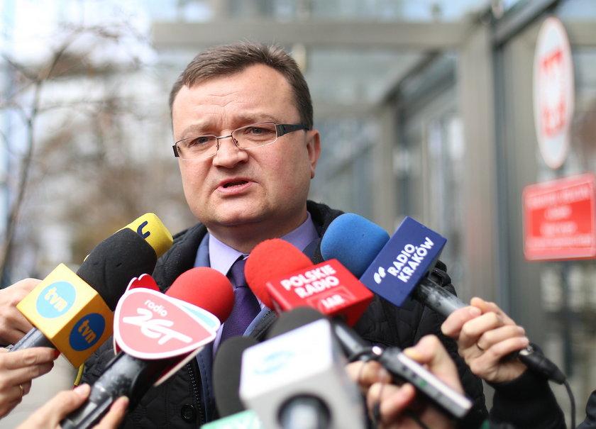 Piotr Kosmaty rzecznik Prokuratury Apelacyjnej w Krakowie